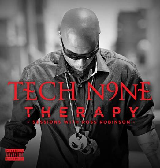 """TECH N9NE Releases New Hard Rock/Rap Fusion EP """"Therapy"""" Today"""