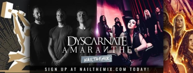 This Month on NAIL THE MIX: Tracks by Amaranthe & Dyscarnate